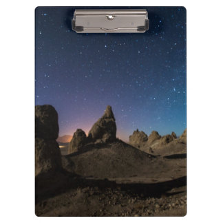 Trona and the Milky Way Clipboard
