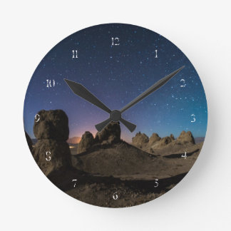 Trona and the Milky Way Round Clock