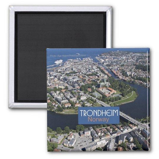 Trondheim Norway Travel Souvenir Photo Magnet