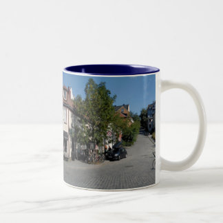 Trondheim, Norway Two-Tone Coffee Mug