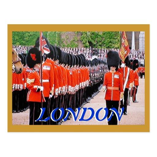 Trooping the Colours Diamond Jubilee postcard