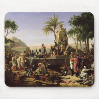 Troops halted on the Banks of the Nile Mouse Pad