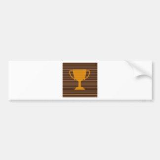 Trophy Award Cup Winner Success NVN278 Sports GIFT Bumper Sticker