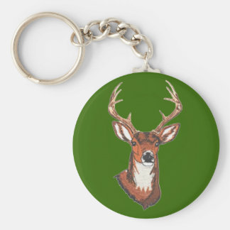 Trophy Buck Rack Mount Key Ring