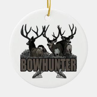 Trophy Bucks Bowhunter Christmas Ornament