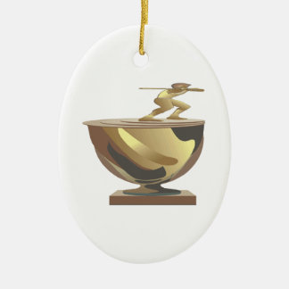Trophy Christmas Ornament