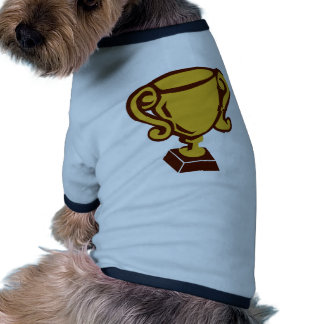 Trophy - Cup Dog T Shirt