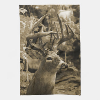 Trophy Deer Tea Towel