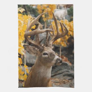 Trophy Deer Tea Towel