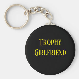Trophy Girlfriend Christmas Holiday Gift Key Chain