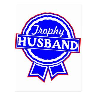 Trophy Husband 002 Postcards