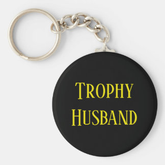 Trophy Husband Christmas Holiday Gift Key Chain