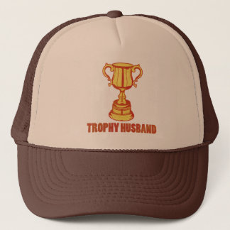 Trophy Husband, funny+mens+gifts Trucker Hat