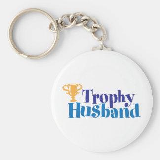 Trophy Husband Key Ring