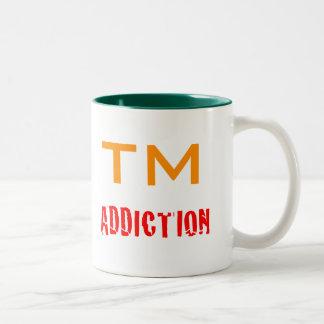 Trophy Manager addiction Two-Tone Mug