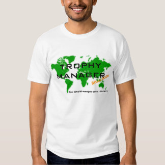 Trophy Manager Globe T Shirts