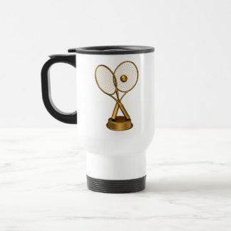Trophy of Tennis Stainless Steel Travel Mug