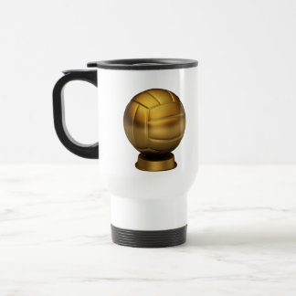 Trophy of Volley ball Coffee Mugs