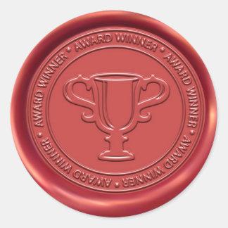 Trophy Sign Wax Seal