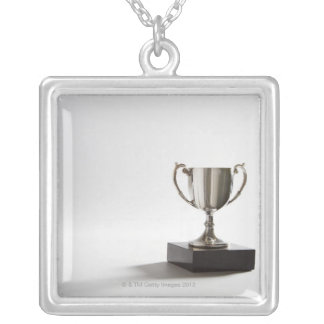 Trophy Silver Plated Necklace