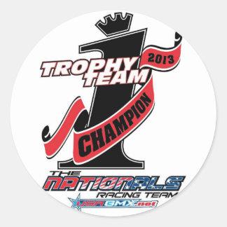 trophy team sticker