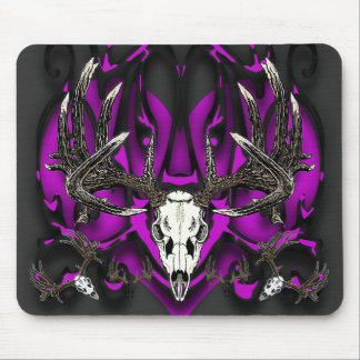 Trophy Whitetail buck Mouse Pads