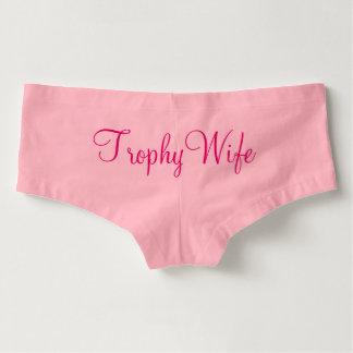 Trophy Wife boyshorts underwear for women