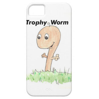 Trophy Worm Wife Husband iPhone 5 Cases