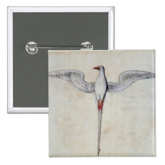 Tropic Bird 15 Cm Square Badge