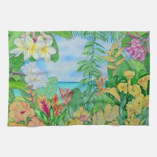 Tropic Gold Tea Towel