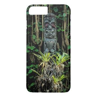 Tropic Pool Tiki Illustrated Hawaiian iPhone 7 Plus Case