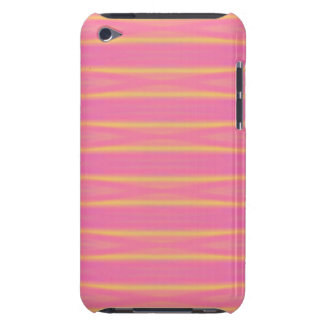 Tropical Abstract Pastel Airbrush Stripes iPod Touch Case