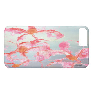 Tropical Abstract Plumeria iPhone Case
