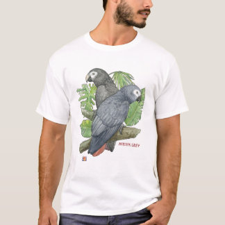 Tropical African Greys T-Shirt