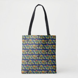 Tropical All-Over-Print Bag (Navy)