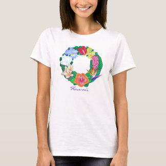Tropical Aloha Wreath T-Shirt