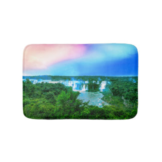 Tropical Amazon Waterfall Bath Mat