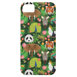 Tropical Animal Mix Barely There iPhone 5 Case