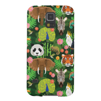 Tropical Animal Mix Case For Galaxy S5