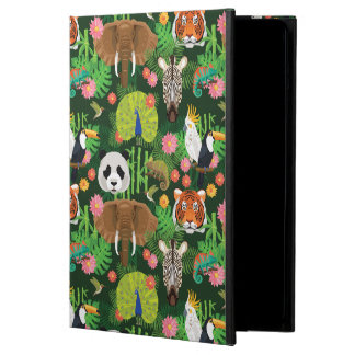 Tropical Animal Mix iPad Air Cover