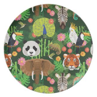 Tropical Animal Mix Plate