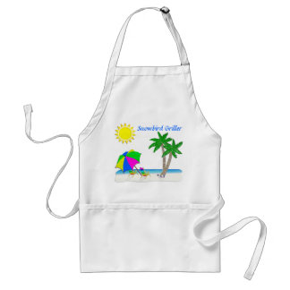 Tropical Aprons, Gifts for Snowbirds Standard Apron
