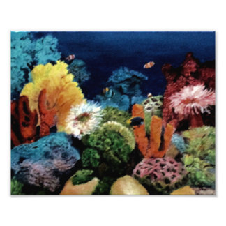 Tropical Aquarium Photo Print