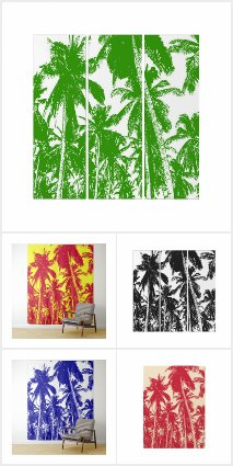 Tropical Art Collection