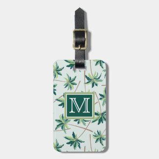 Tropical Australian Foxtail Palm | Monogram Luggage Tag