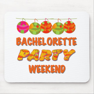 Tropical Bachelorette Party Weekend Mouse Pad