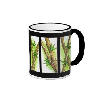 Tropical Bamboo Painting - Multi Coffee Mug