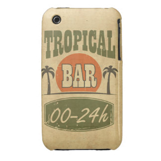 Tropical Bar Case-Mate iPhone 3 Cases