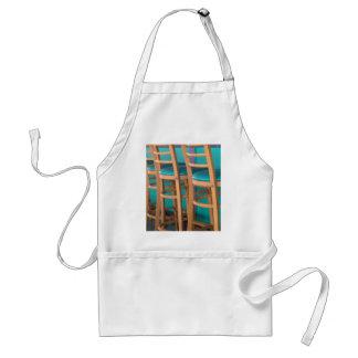 tropical bar stool adult apron