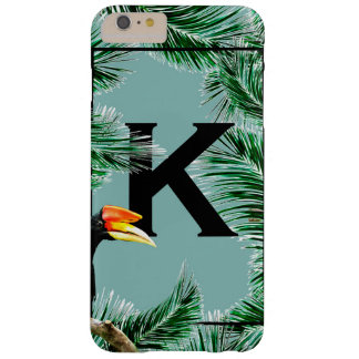 tropical barely there iPhone 6 plus case